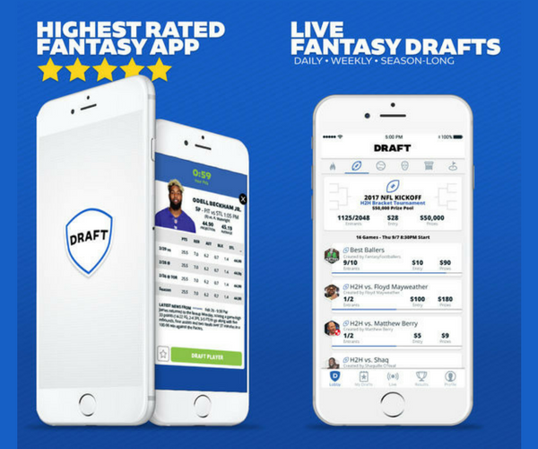 Draft - Must-Have Apps For Sports Fans (2018)