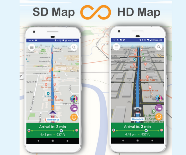Live Roads App Review - Maps