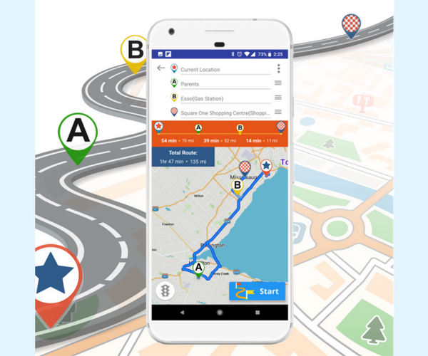 Live Roads App Review - Navigation