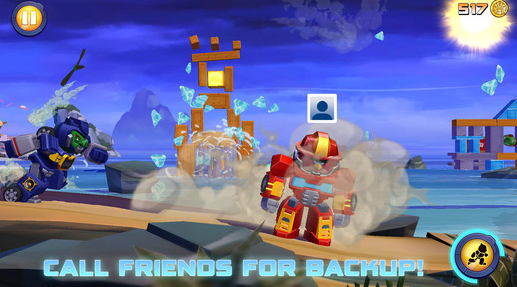 Angry Birds Transformers - Best iOS Games