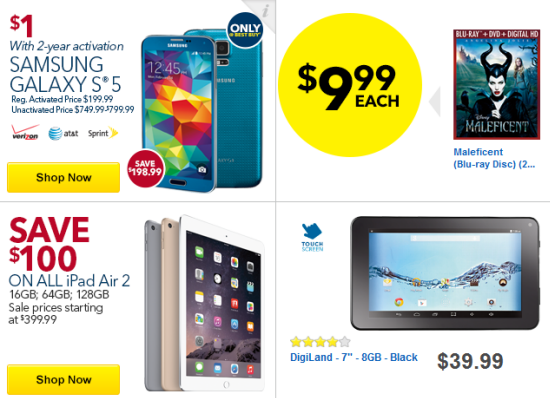 Best Buy Black Friday Tech Deals 2014