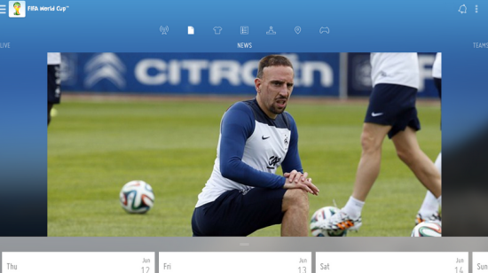 FIFA - Top Android Apps to Catch World Cup Football 2014
