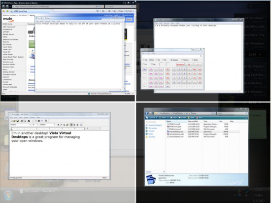 Finestra virtual desktop managers for windows 7