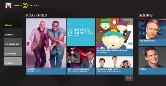Full Episodes of Comedy Central on Your Xbox One