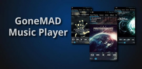 GoneMAD-Music-Player