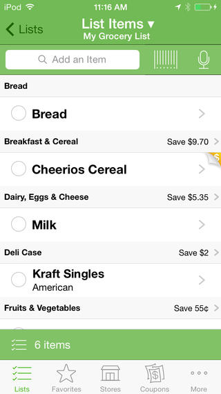 Grocery IQ - Mobile Coupon Apps