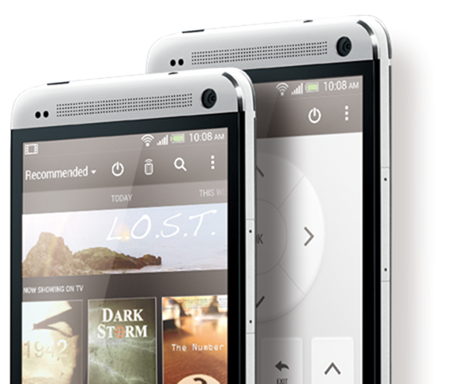HTC One TV guide