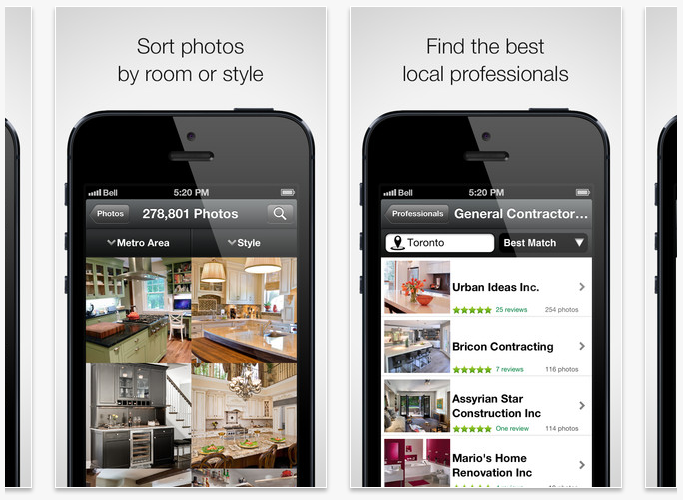 Interior Design Apps To Design Your Dream Home: houzz design app