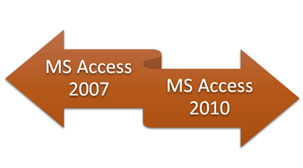 How to Create Backward Compatibility between MS Access 2010 and 2007