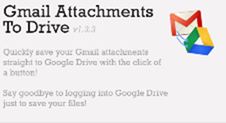 gmail attachments to drive