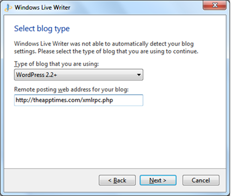How to Configure a WordPress Blog on Windows Live Writer