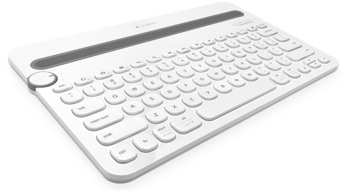 K480 Bluetooth Keyboard white