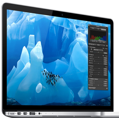 Macbook Pro with Retina Features