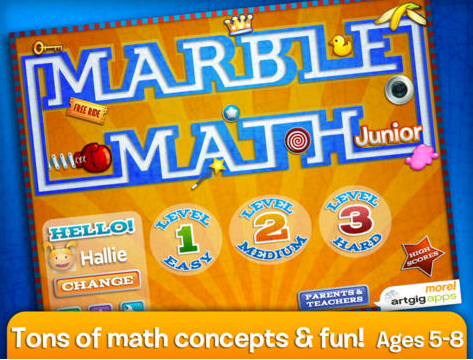 Marble Math Junior - Amazing Math Apps