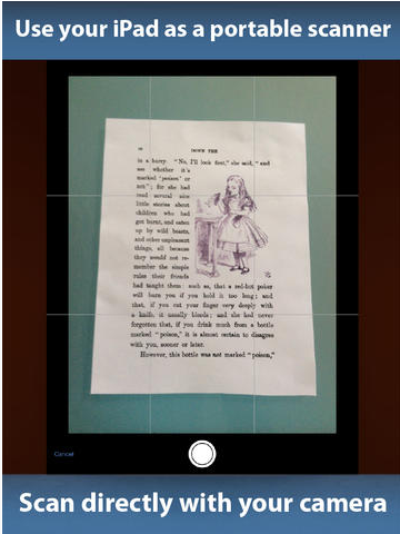 PDFpen Scan  with OCR, PDF text export