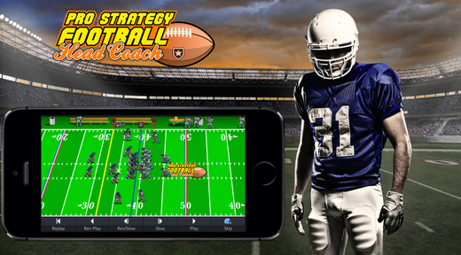 New iOS Games Oct 23rd  - Pro Strategy Football 2014