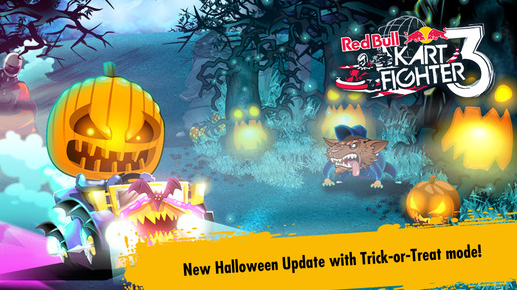 Red Bull Kart Fighter 3 – Halloween games update