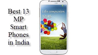 Latest Smartphones with 13 MP Camera in India