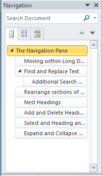 Things You Can Do Using The Navigation Pane