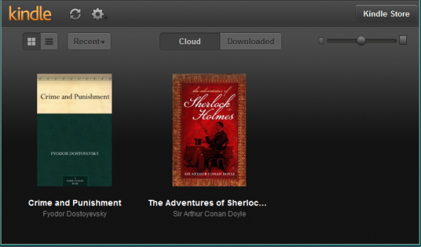 Install Kindle Cloud Reader on Your PC and Read Kindle Books