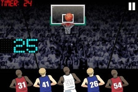 Basketball Hotshots iPhone Game Review