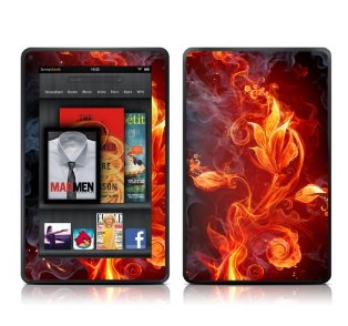 Decalgirl Kindle Fire Skin - Flower of Fire