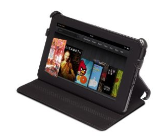 Kindle Fire Leather Cover