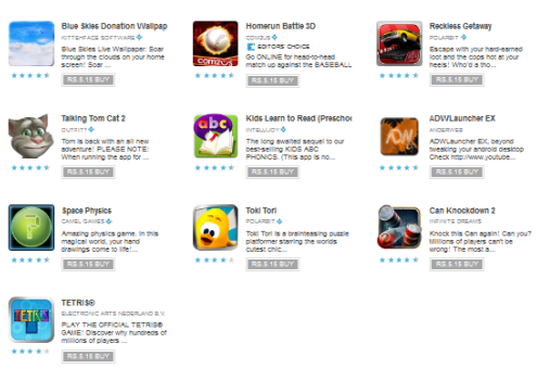 Premium Android Apps 10 Cent Offer