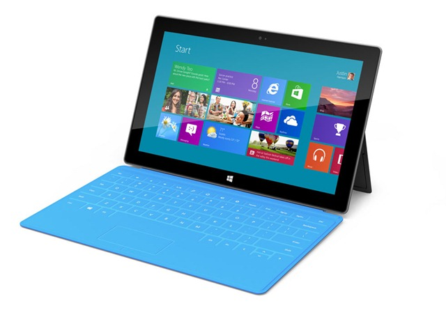 Microsoft Teases Consumers with Microsoft Surface Tablet Intro
