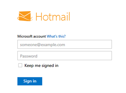 How to Change Hotmail Passwords