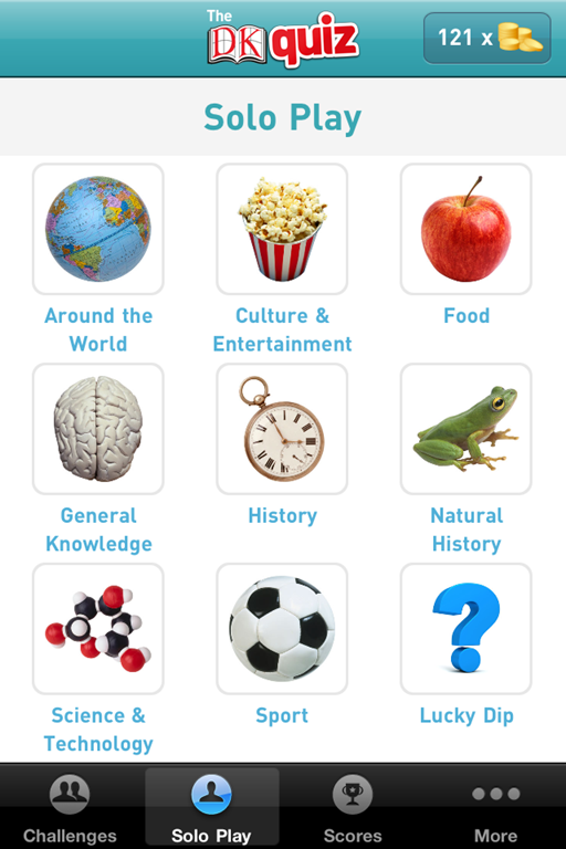 DK Quiz iPhone App Review: Fun Trivia Quiz Game
