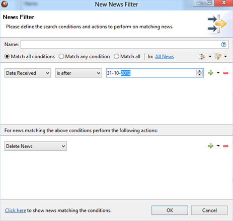 RSS Feed Reader for Windows 8 - News Filter