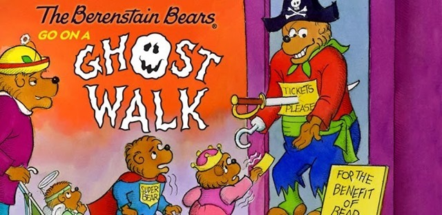 spooky Halloween Android apps  - The Berenstain Bears Go on a Ghost Walk