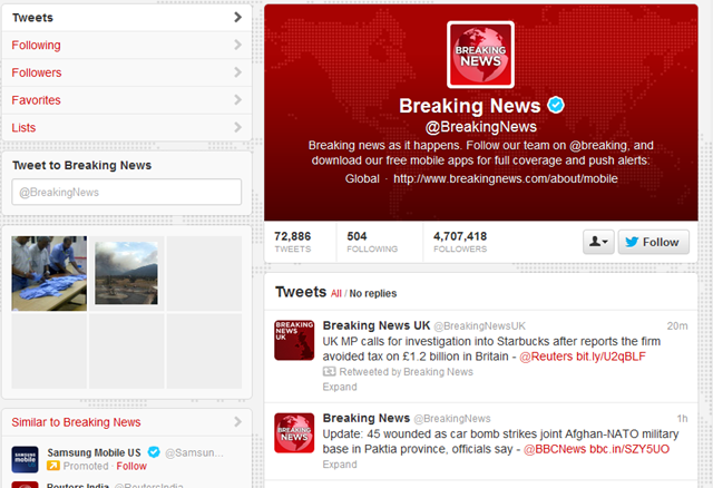 Twitter Redesigned
