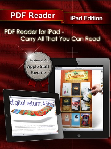 PDF Reader iPad Edition: App Review