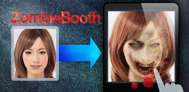 spooky Halloween Android apps  - zombiebooth
