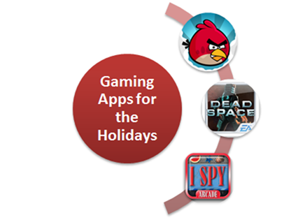 gaming apps for the holidays