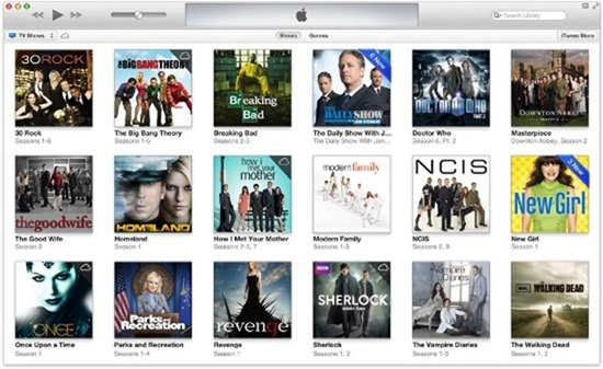 itunes 11 new interface