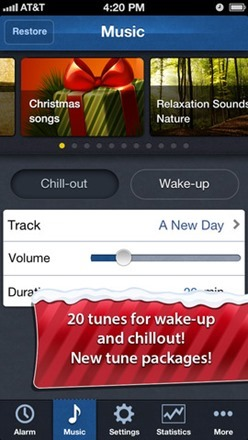 smart alarm clock screenshot 3