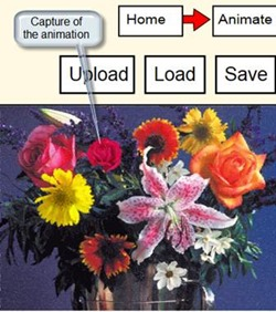 convert photo images into HD animated videos pac-n-zoom