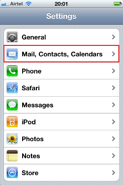 add email to iphone add an email account to iphone ipod touch or 13359
