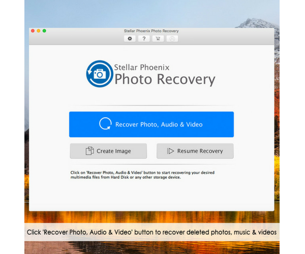 Stellar Phoenix Photo Recovery Software for Mac