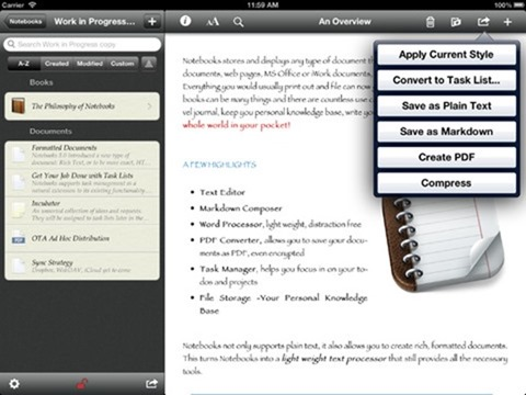 notebooks ipad app 2