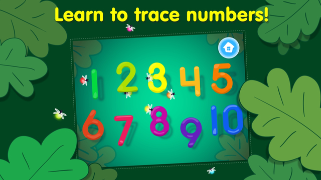 123 Tracing Numbers