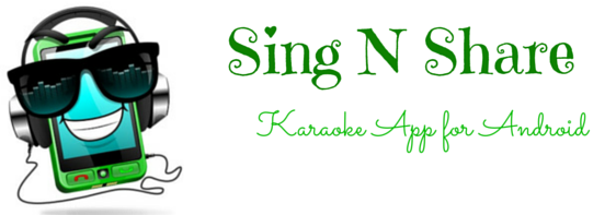sing n share android app