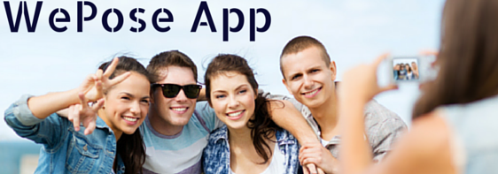 Capture Outrageously Fun Pictures of Your Pals with WePose