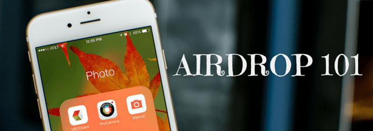 What is Airdrop and How to Use it to Share Stuff with Other iOS Devices