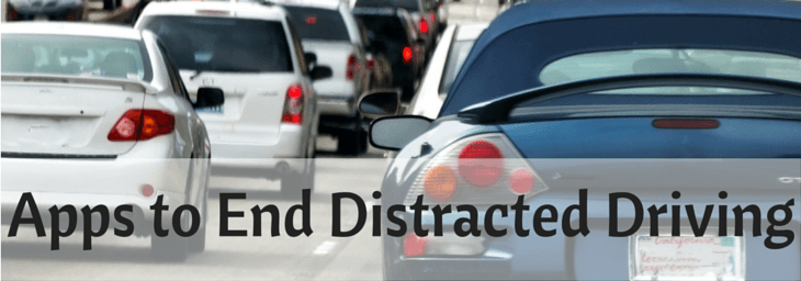 apps to end distracted driving