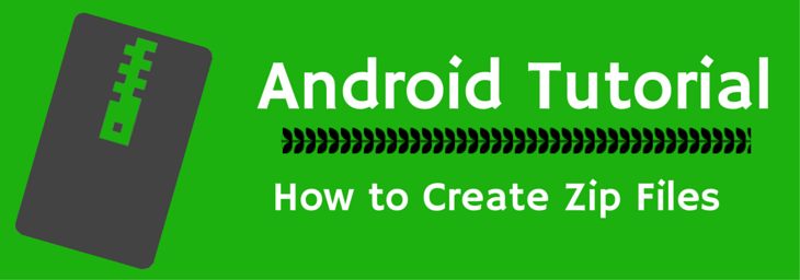 create zip files on android