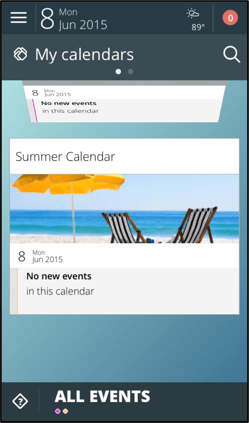 Allcal App - Collaborative Event Planning for ios